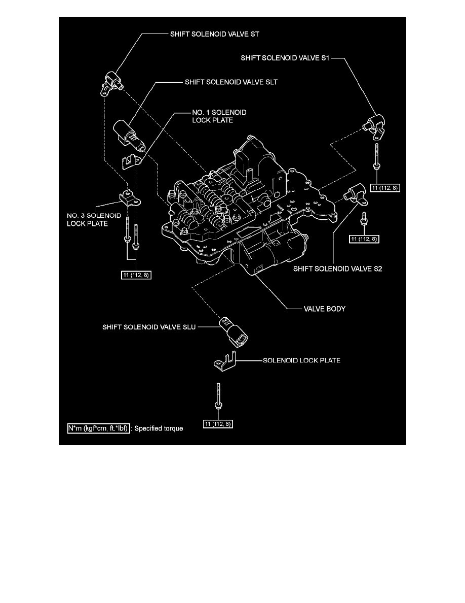 Toyota Corolla Repair Manual: Shift solenoid a performance(shift solenoid valve s1)