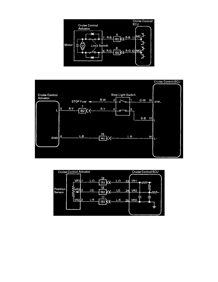 Cruise Control > Cruise Control Servo > Component Information > Diagrams >  Diagram Information and Instructions > Page 6813