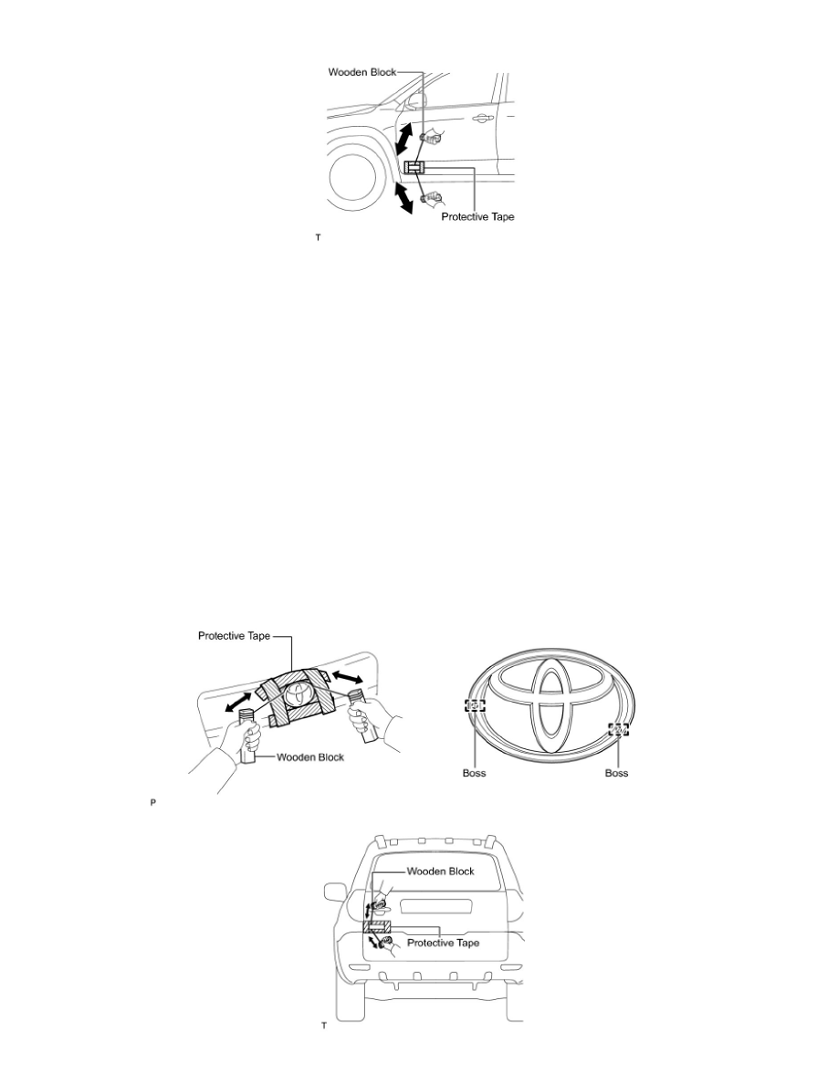 Toyota RAV4 Service Manual: Outside moulding