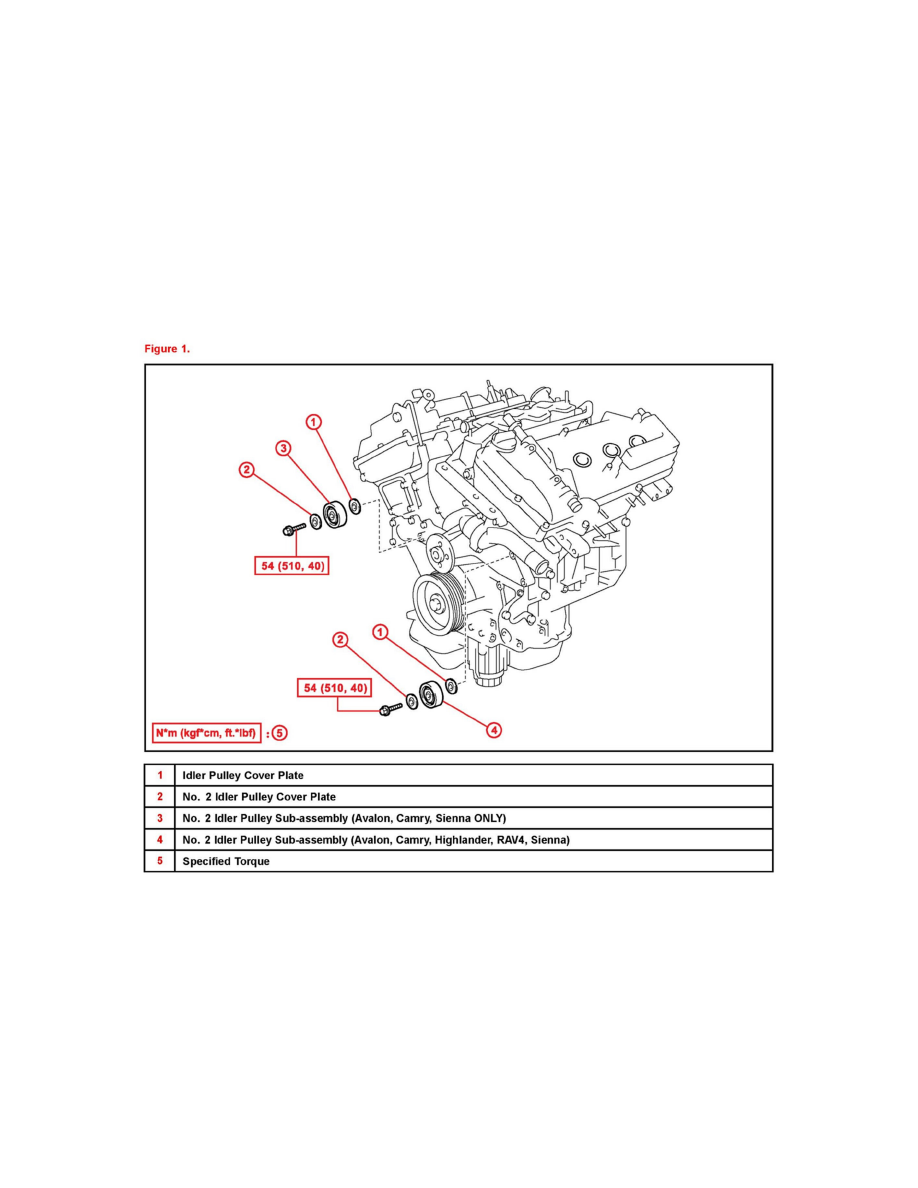 Engine, Cooling and Exhaust > Engine > Drive Belts, Mounts, Brackets and  Accessories > Idler Pulley > Component Information > Technical Service  Bulletins > ...