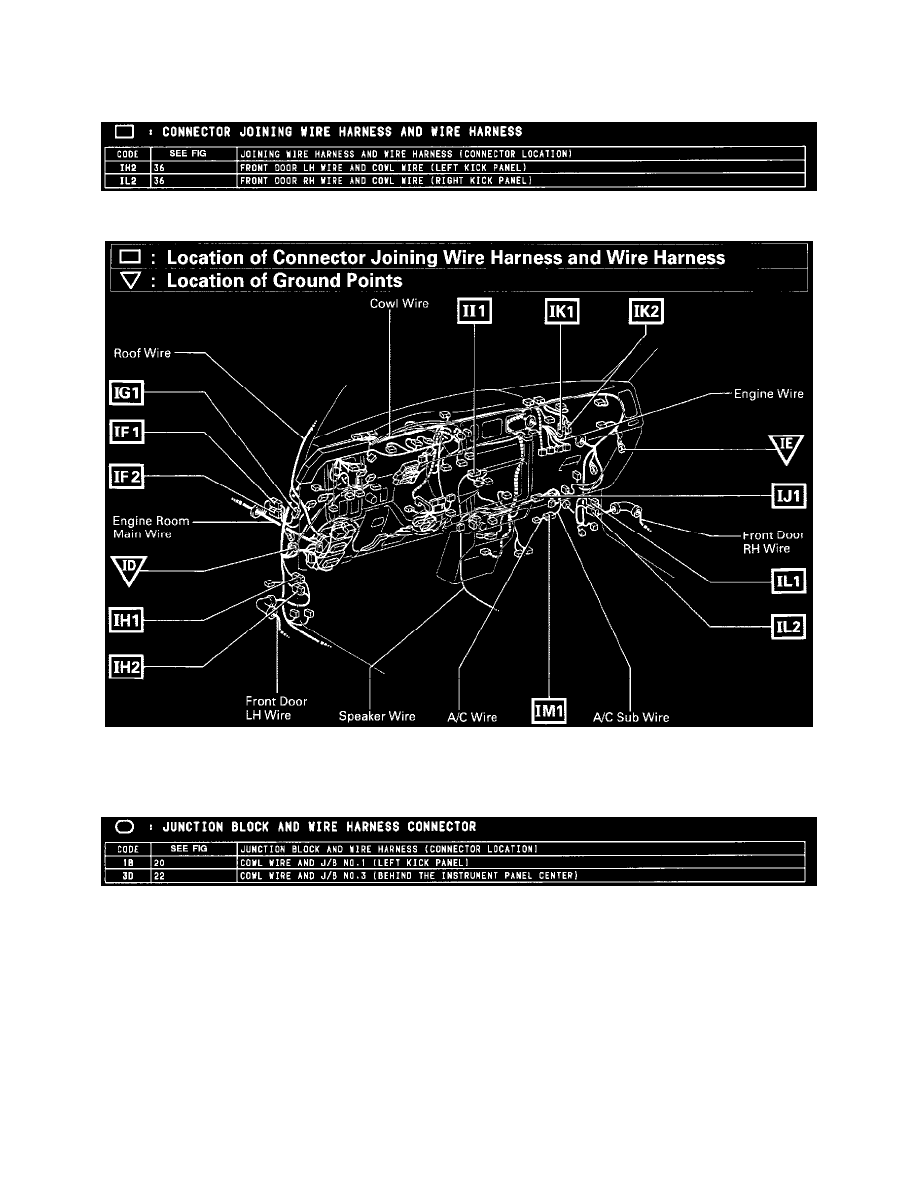 Toyota Workshop Manuals Tacoma 2wd L4 24l 2rz Fe 1996 Wire Harness Windows And Glass Power Window Motor Component Information Diagrams Diagram Instructions
