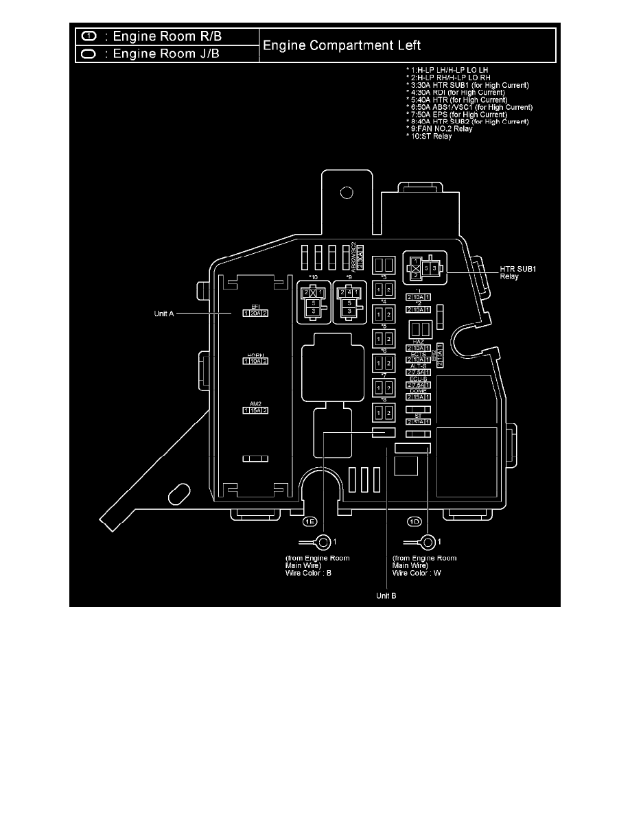 toyota yaris manual on cooling fan relay location 2007