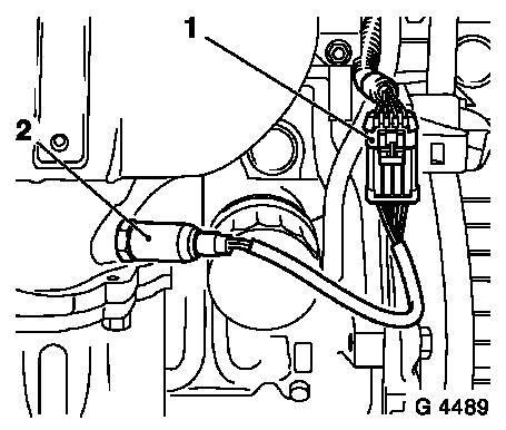 Vauxhall Workshop Manuals Astra F J Engine And Engine Aggregates