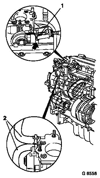 Vauxhall Workshop Manuals Astra G J Engine And Engine Aggregates