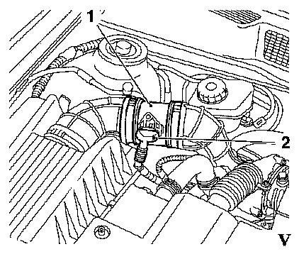 Opel Vectra A Wiring Diagram