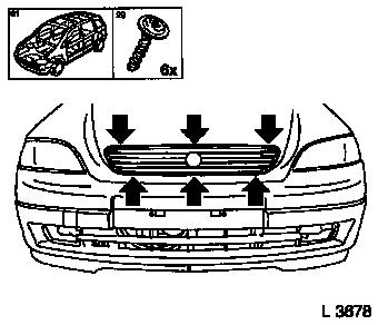 200454150159 besides merce likewise Radiator grille remove and install  panelling panelling parts spoiler together with Bath And Shower Valve Rough In as well 181245238036. on chrome trim