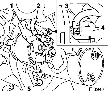 Opel Astra Starter Motor Location How To Removereplace The Starter