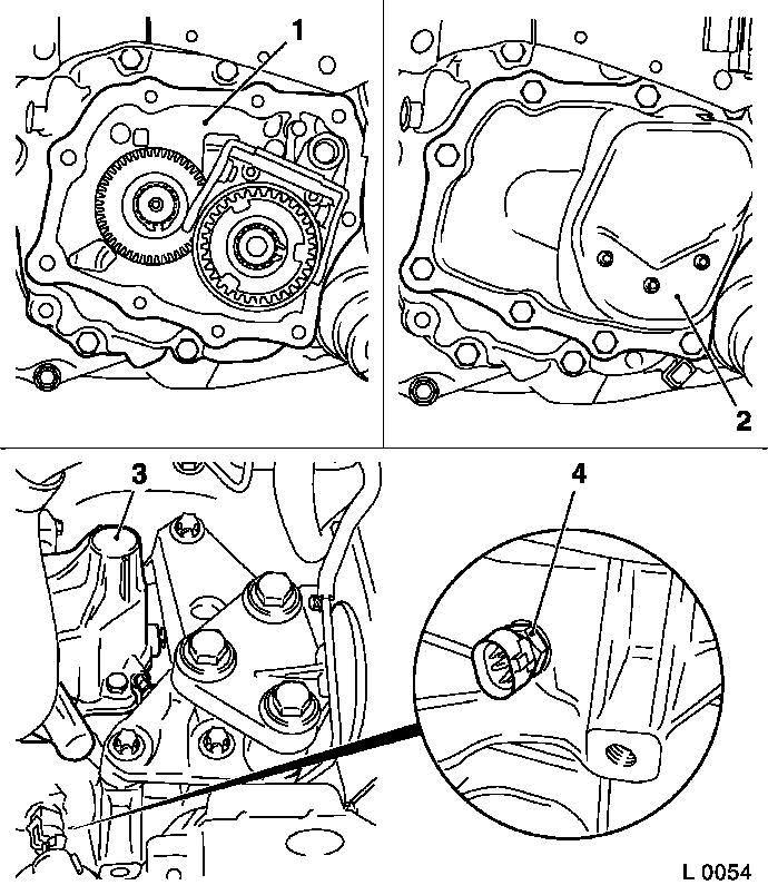 8852CH20 POWER FLOW DISENGAGEMENT together with Removing and installing torque converter oil seal in addition Tech moreover Gearbox casings gear change and oil pump as well Illustration transmission housing  f23. on gearbox transmission