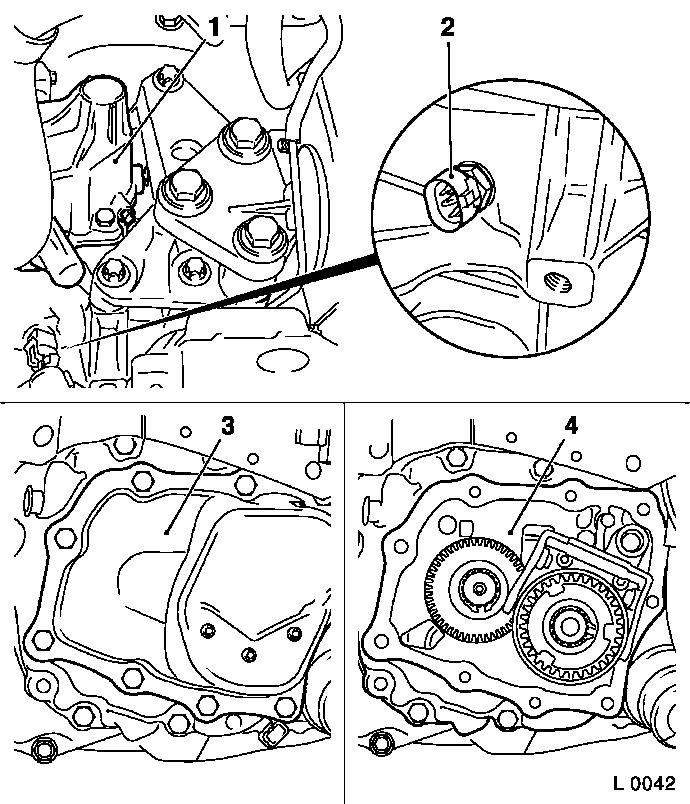Vauxhall Workshop Manuals  U0026gt  Astra G  U0026gt  K Clutch And Transmission  U0026gt  Manual Transmission Front