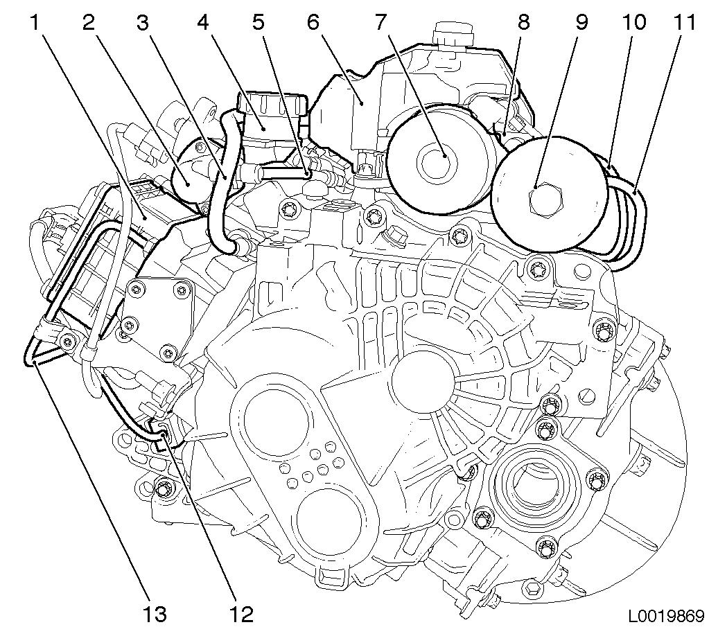 Vauxhall Workshop Manuals > Astra H > K Clutch and Transmission