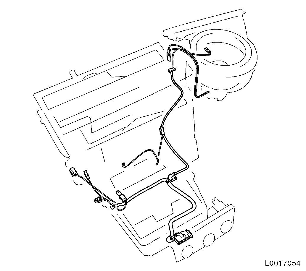 Vauxhall Workshop Manuals Astra H N Electrical Equipment And Wiring Harness 3 Remove