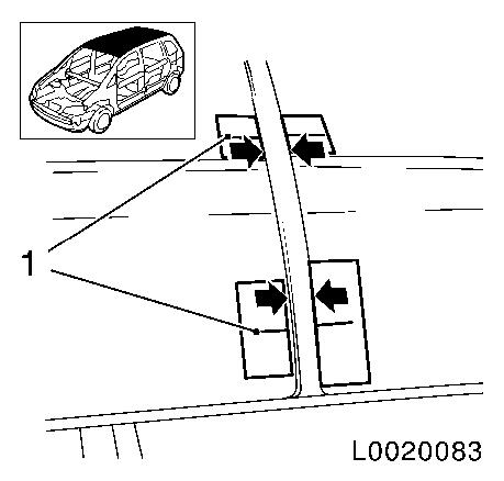 Replace_folding_roof_hinge_wiring_harness_(right_side)_l67