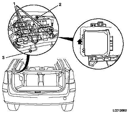 n electrical equipment and instruments > electronic module > tailgate  electronic module rec > repair instructions > replace rear electronics  module (rec)