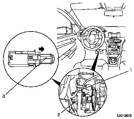 Replace brake light switch on light switch electrical wiring