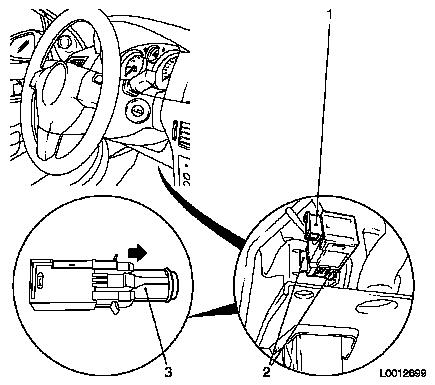 Replace clutch control switch for electronic speed regulator on wiring harness images