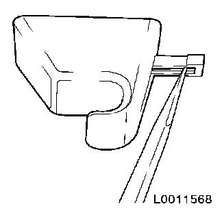 Replace moulded headlining l08 on vauxhall glass