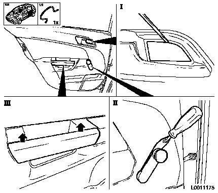How To Pull Off Inner Panel Rear Door 2009 Acura Tsx