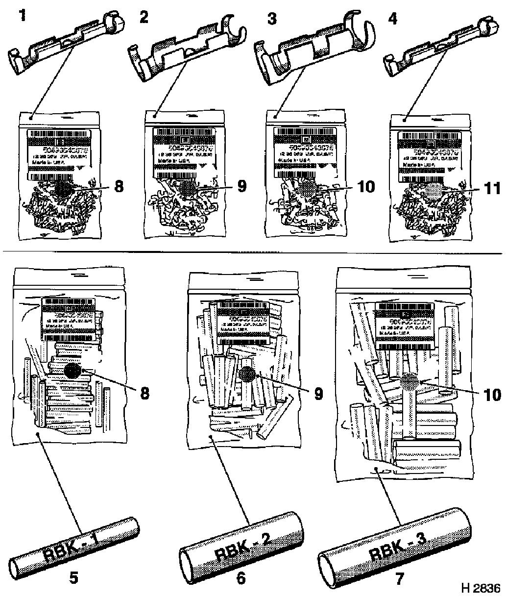 Vauxhall Workshop Manuals Astra H General Vehicle Information Water In Fuse Box Note The Shrink Down Plastic Tubes For Cable Cross Section 035 Mm 2 Are Identical To Those Sections 05 075 10 And