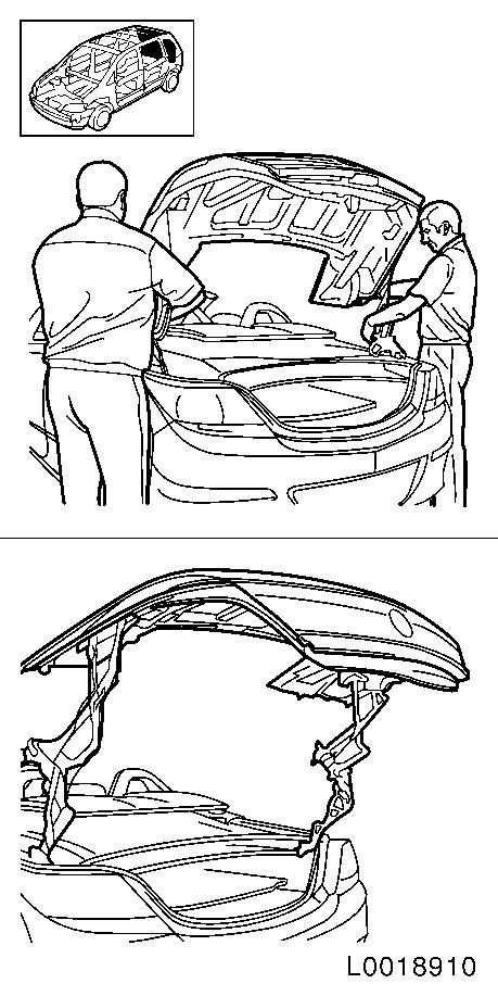 vauxhall workshop manuals  u0026gt  astra h  u0026gt  c body equipment  u0026gt  folding roof  u0026gt  folding roof  complete