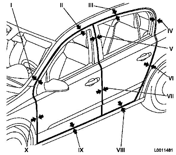 Vauxhall Workshop Manuals  U0026gt  Astra H  U0026gt  A Maintenance  Body And Chassis Sheet Metal Parts  Frame