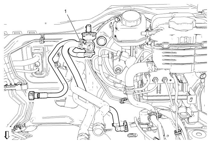 chevrolet power brake booster diagram
