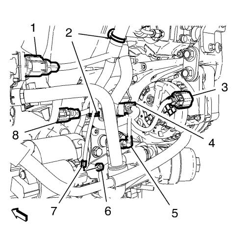 Vauxhall Astra Wiring Harness : Vauxhall workshop manuals gt astra j engine
