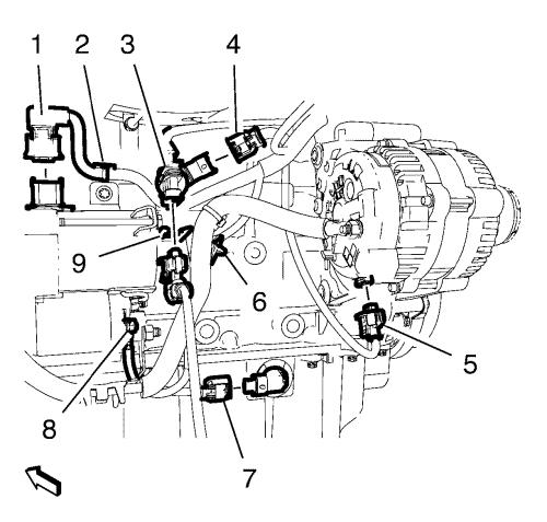 Belt tensioner assembly drawing