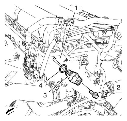 Camshaft position sensor replacement 1 on camshaft position sensor location