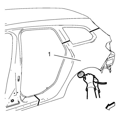 Replace  fixed  rear quarter window l35 together with Group 6k in addition 0ezrr Remove Left Right Rear Interior Panels as well Showthread furthermore 1966 Mustang Body Panels Diagram. on quarter panel damage