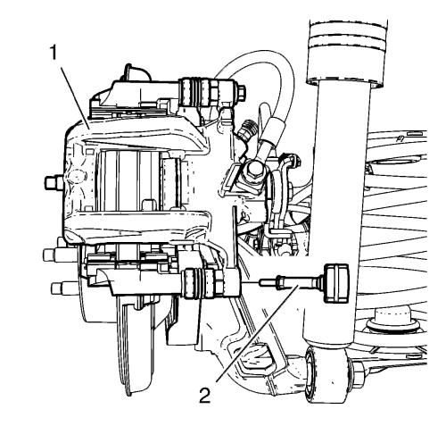 Replacement Brake Caliper Diagram