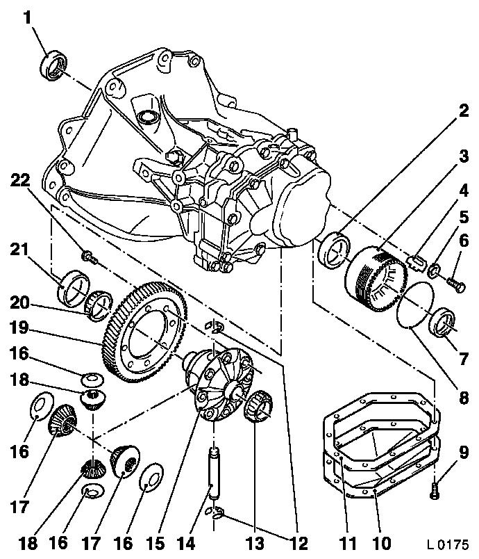 Vauxhall Workshop Manuals Corsa B K Clutch And Transmission