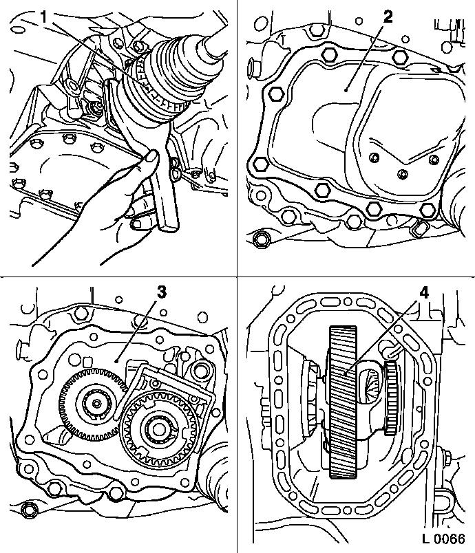 Vauxhall Workshop Manuals  U0026gt  Corsa C  U0026gt  K Clutch And Transmission  U0026gt  Manual Transmission Front
