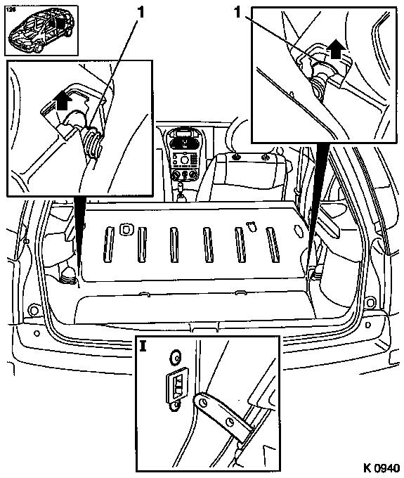 seat belt mechanism diagram