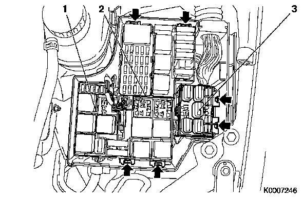 Opel Corsa C Fuse Box Diagram