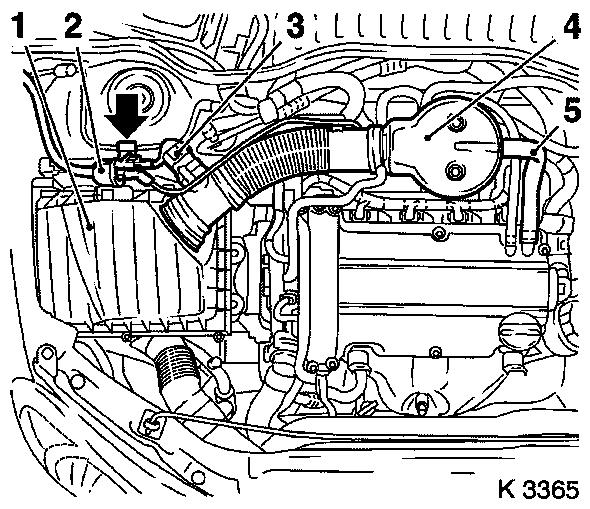 Remove and install timing case  z 12 xe z 12 xep z 14 xep without air conditioning lhd on opel engine oil system diagram