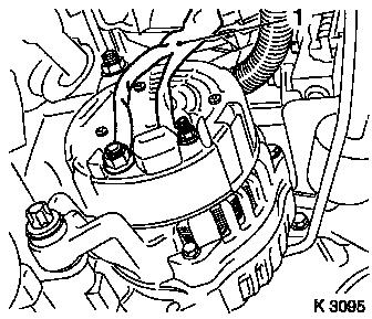Alternator remove and install or replace additionally Replacing oil dipstick guide tube also Vauxhall Astra Air Conditioning Wiring Diagram in addition Alternator remove and install or replace moreover Replace seat occupancy detection mat. on vauxhall corsa c wiring diagram