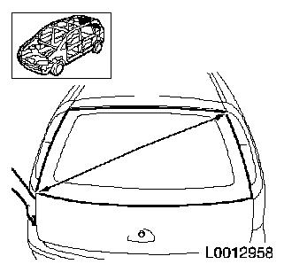 Tailgate window remove install or replace l35 also Index in addition  on fabric wiring harness tape