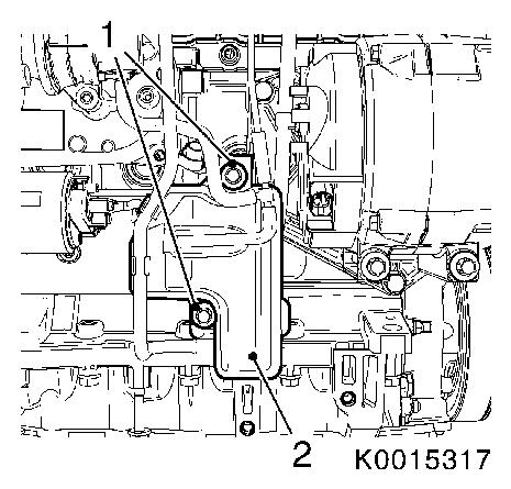Stop system on universal engine wiring harness