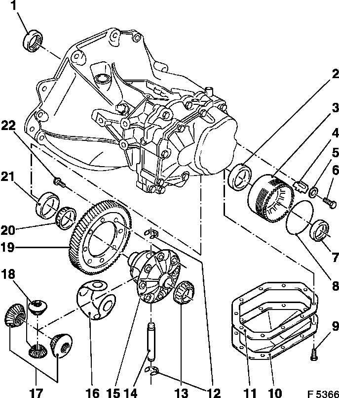 Chevrolet Transmission Diagram