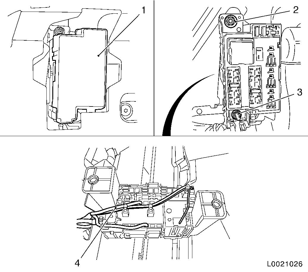 opel astra fuse box diagram