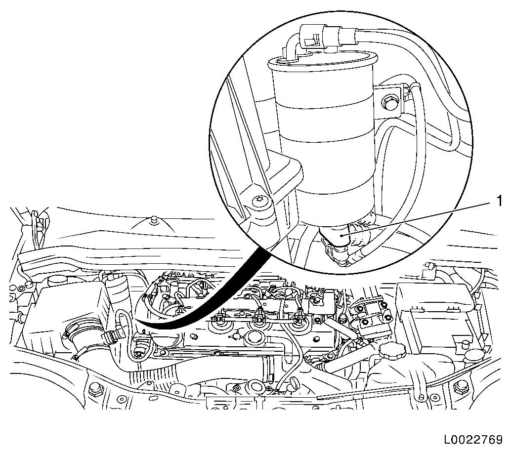 2013 chevy equinox fuel filter location