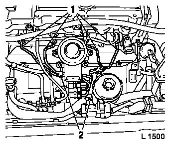 Digital diesel electronics dde 2 further Front panelling side bracket replace  partial replacement moreover Illustration brake system routing limousine to my 1998 likewise Vacuum hose remove and install  vehicles with dohc engine likewise Ilmamassatunnistin P183953. on vauxhall omega