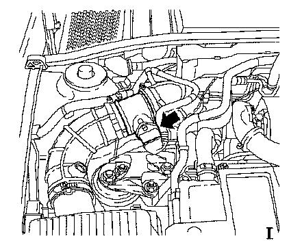 Opel Vectra B 2001 Engine Diagrams