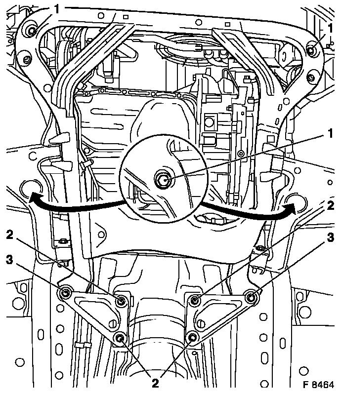 Vauxhall Workshop Manuals Vectra B J Engine And Engine