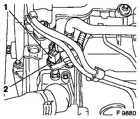 Engine coolant thermostat housing replacement 1 furthermore 1999 Kia Sportage Bumper Diagram Html moreover J 606800 fan motor replace  y 17 dt with ac rhd further Exhaust gas recirculation valve replace further RepairGuideContent. on wiring harness cover repair
