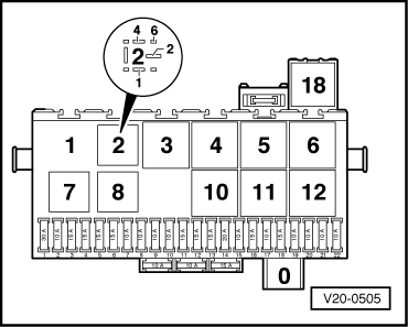 Fuse Box Diagram Vw Golf 2000
