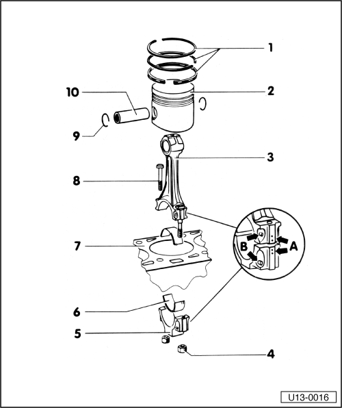 Dismantling and assembling pistons and conrods on gy6 carburetor diagram