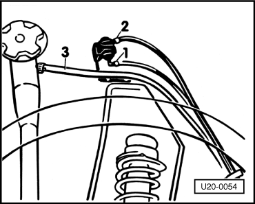 fuel filler hose connector heater hose connector wiring