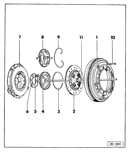golf mk1 309 volkswagen workshop manuals \u003e golf mk1 \u003e power transmission \u003e 4