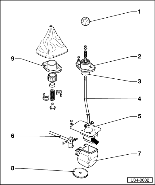 Repair shift linkage furthermore  furthermore 371835434195 further Gear Selectors in addition Vw Shifter Box. on vw shift knob